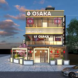 Phố nướng Osaka - Nhà hàng chuyên món nướng và sushi Nhật đầu tiên tại Quảng Ngãi.
