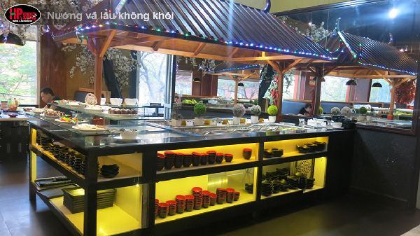 Đặt tiệc Giáng Sinh tại nhà hàng buffet hải sản giá rẻ Hải Phòng