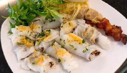 Bánh ướt Diên Khánh Nha Trang - Một trong những món ngon nhất Nha Trang