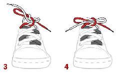 Buộc dây giày đúng cách và 10 kiểu buộc giầy đẹp